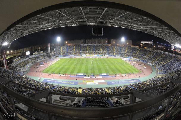 Aspecto del estadio durante un partido