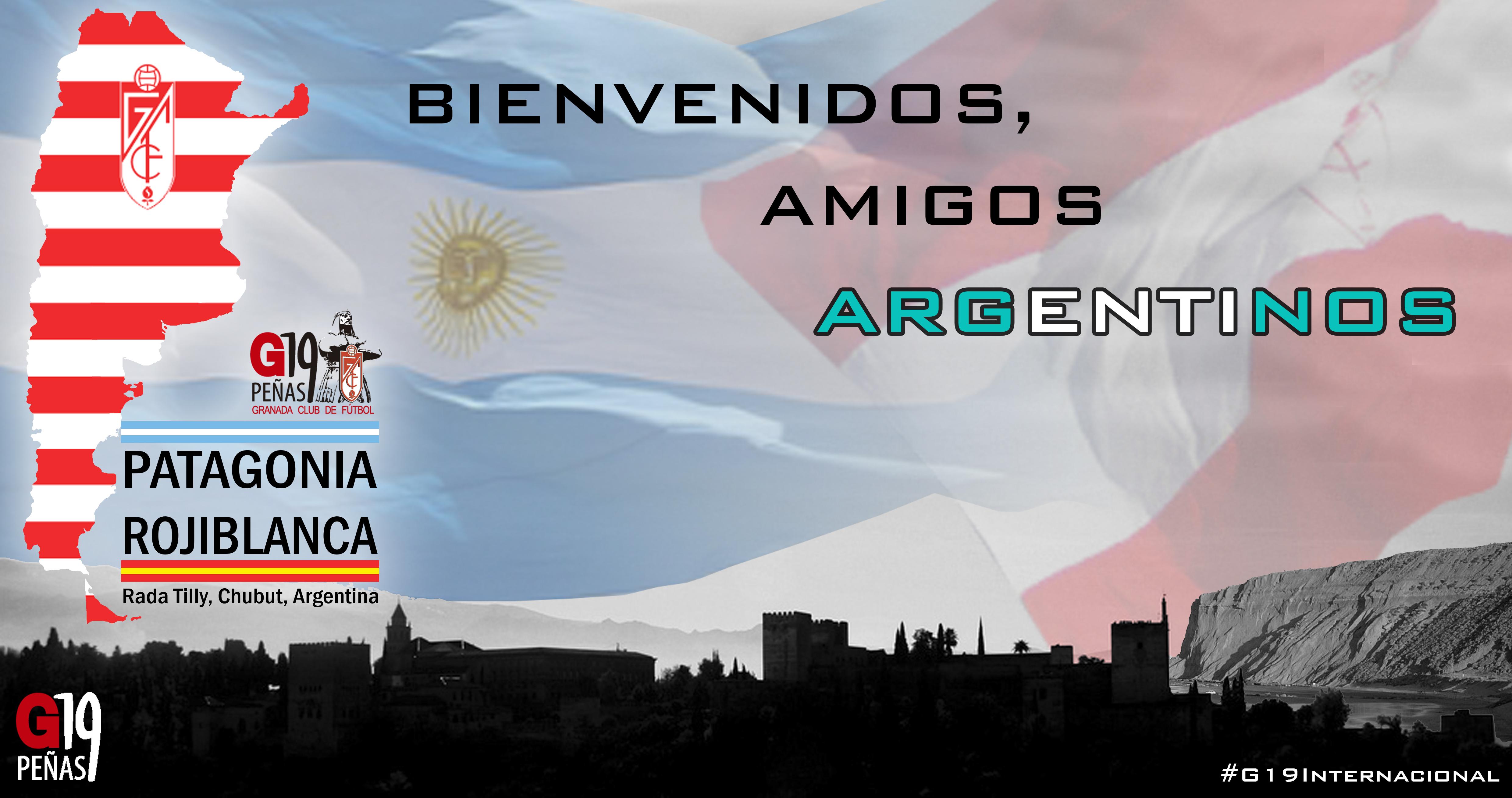¡Bienvenidos Peña Patagonia Rojiblanca!