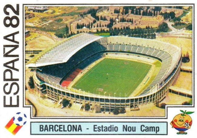 El Camp Nou durante el Mundial