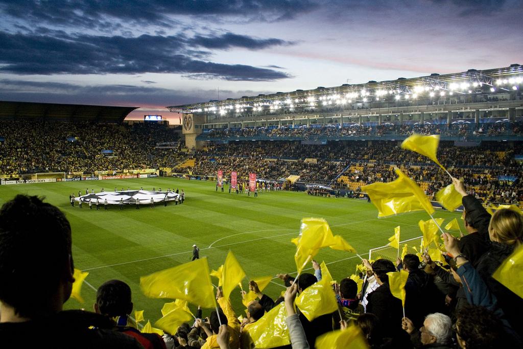Champions League en El Madrigal