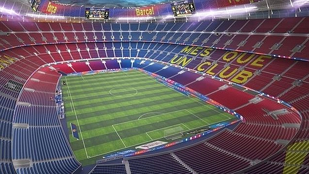 Así quedará el Camp Nou en 2021