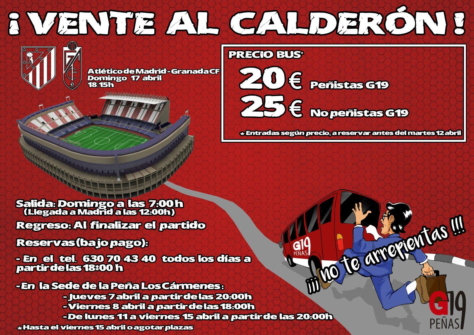 Viaje al Calderón - Imagen: G19