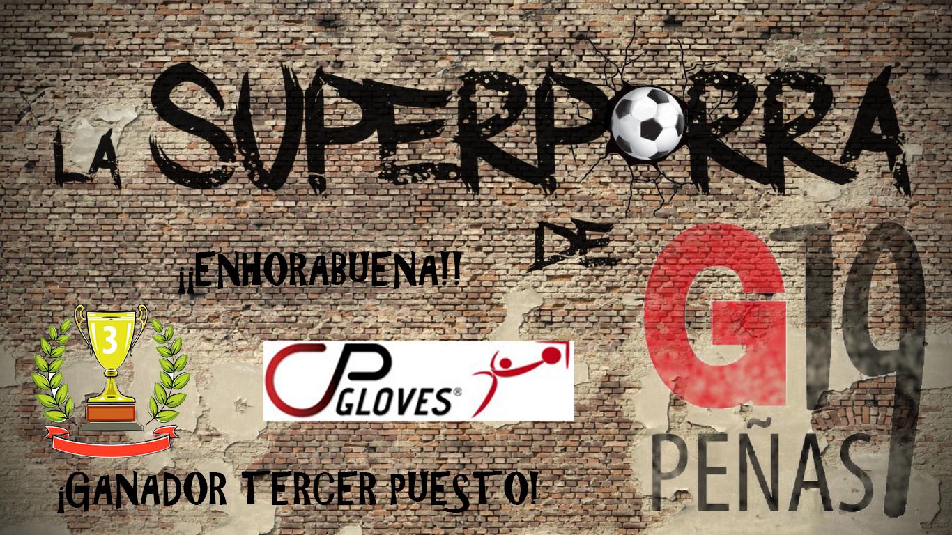 Tercer premio Superporra G19 2015/16