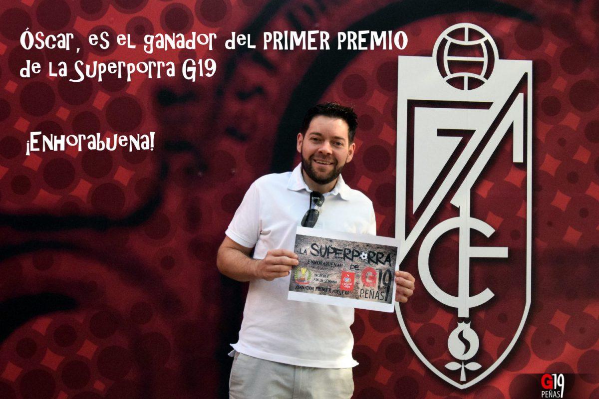 Primer premio Superporra G19