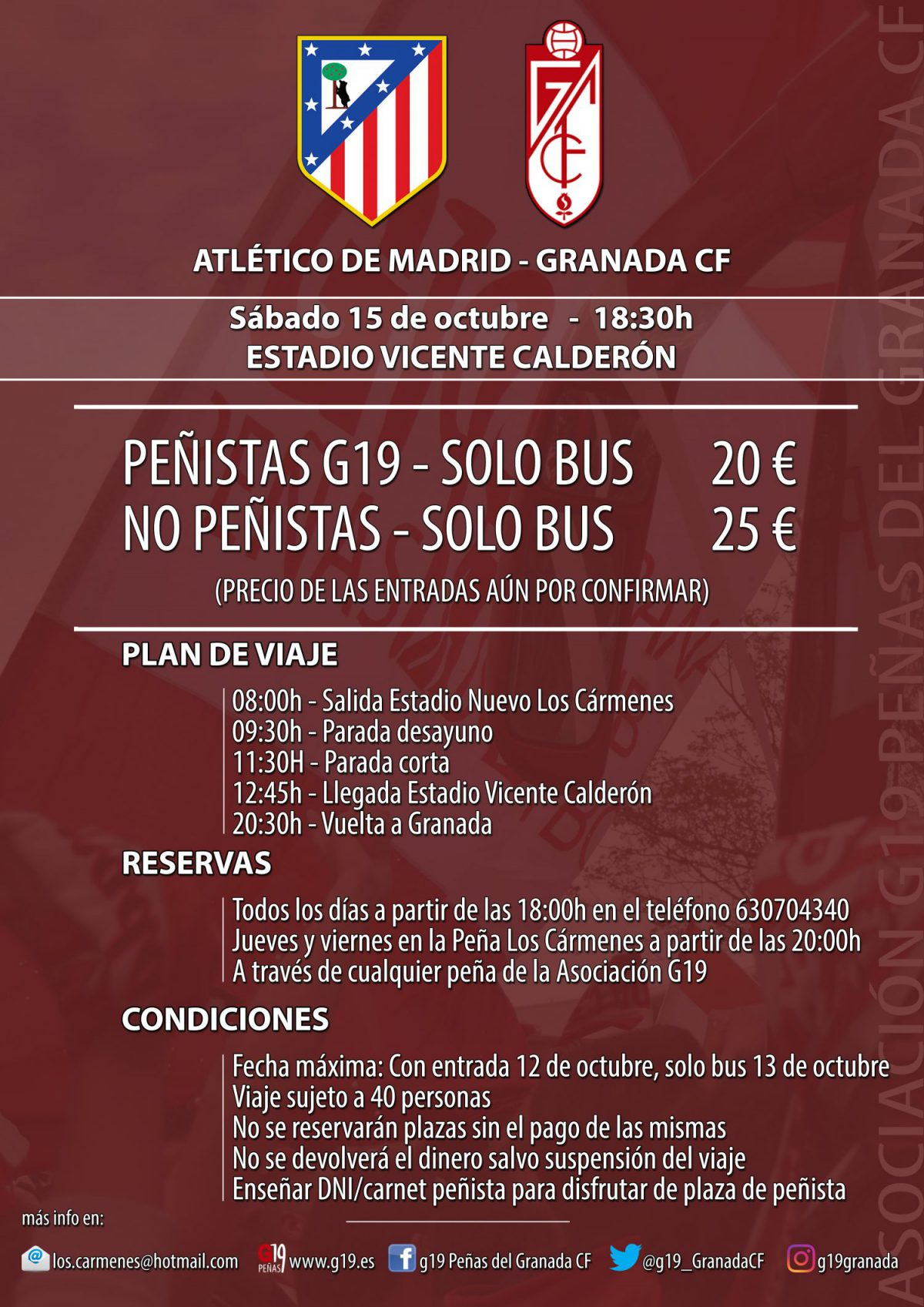Viaje al Calderón. Imagen: @jaferser