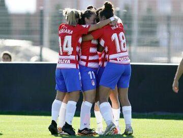 El Granada CF Femenino avanza en la Copa de la Reina